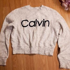 Calvin Klein crop sweater